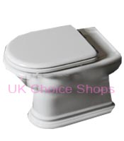 Althea Rose Floorstanding Toilet - 24003