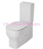 Azzurra Glaze Close-Coupled BTW Toilet - GLZ100 - MBP