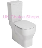 Azzurra Glaze Close-Coupled Toilet - GLZ100 - MBP