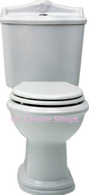 Azzurra Jumbilaeum Close-Coupled Toilet -