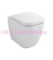 B&Q Affini Back-To-Wall Toilet