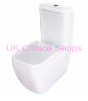 B&Q Affini Close Coupled Toilet