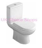 B&Q Della Close Coupled Toilet