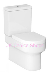 Cooke & Lewis Alexas Modern BTW Close-Coupled Toilet