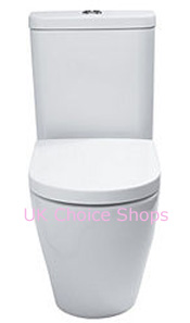 Cook & Lewis Alexas Contemporary BTW Close-Coupled Toilet