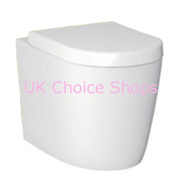 Cook & Lewis Alexas Contemporary Back-To-Wall Toilet