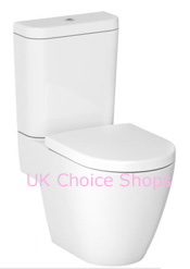 Cooke & Lewis Helena Close-Coupled - Open Back Toilet