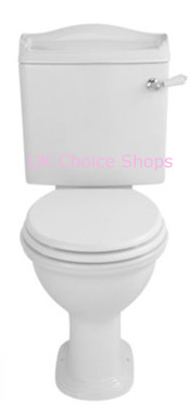 Cooke & Lewis Montague Close-Coupled Toilet