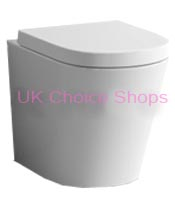 Bath Empire Tuscany Gloss White Toilet Series