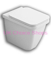 Bathstore Hatria Pro Back-To-Wall Toilet