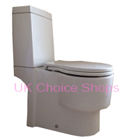 Bathstore Wash Close-Coupled Toilet -