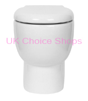 Bathstore Euro Trio Back-To-Wall Toilet