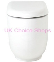 Bathstore FreeForm Back-To-Wall Toilet
