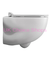 Bauhaus Wild Rimless Wall Mounted Toilet