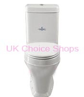 B.C Sanitan Highgrove Close Coupled Toilet - HGCLOCC6