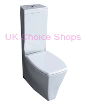 Ben De Lisi Ice Close-Coupled Toilet -