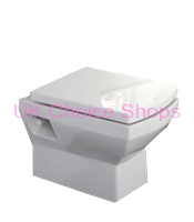 Better Bathrooms Tabor Wall Mounted Toilet