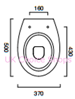 Catalano New Light50 Floorstanding Toilet - 1VPLI