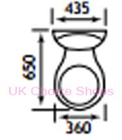Eastbrook Cheverney Type 55 Close Coupled Toilet 27.0811