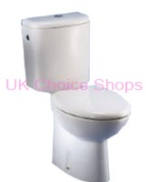 Dolomite Novella Close-Coupled Toilet - J061400