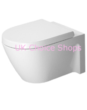 Duravit Starck 2 (New) Wall-Mounted Toilet - 253409