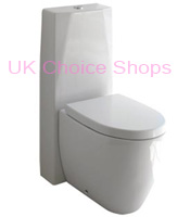 Esedra Bull Close Coupled Toilet