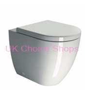 GSI Kube 55 Back-To-Wall Toilet - GS8614