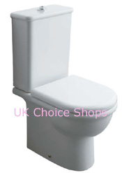 Globo Alia Close-Coupled Toilet - AL003.BI