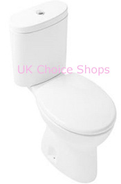 Hatria Cannes Close-Coupled Toilet - YXDE