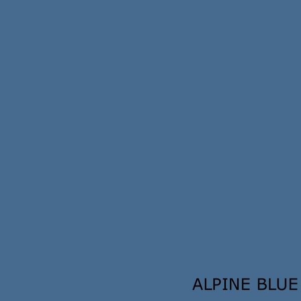 Alpine Blue Colour