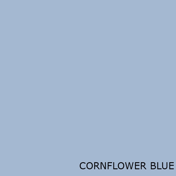 Cornflower Blue Toilet Seats