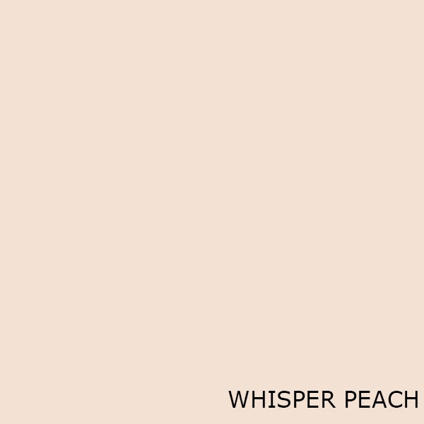 Whisper Peach Toilet Seats