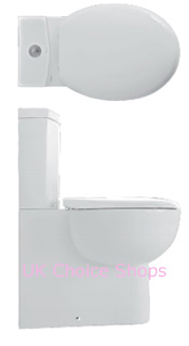 Althea Soft Close-Coupled Toilet - 40556