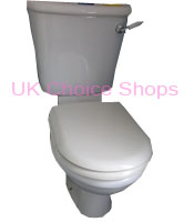 Axa Verbena Close Coupled Toilet