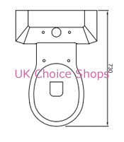 BathStore Savoy Close-Coupled Toilet