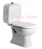 Cesame Sintesi Close-Coupled Toilet - 076227