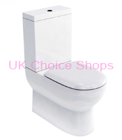 Britton Bathrooms Compact Close Coupled Toilet