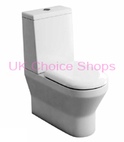 Britton Bathrooms Curve Close Coupled Toilet