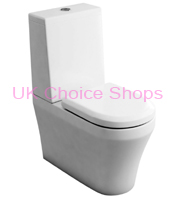 Britton Bathrooms Fine Close Coupled Toilet